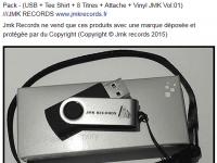Nouveaux Clé USB JMK RECORDS 2015